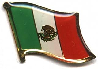 National Flag International Travel Pins