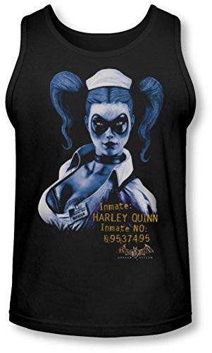 Batman - AA - Arkham Harley Quinn Tank-Top pour Hommes, Large, Black