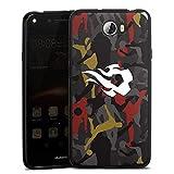 Coque en Silicone Compatible avec Huawei Y6 II Compact Étui Silicone Coque Souple Diables Rouges...