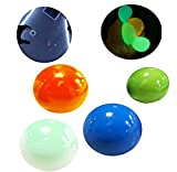 MAITING 4 Pack Luminescent Stress Relief Toy Fluorescence Sticky Ball - Glow Stress Sticky Balls, Non-Toxic for Kids and Adults, Tear-Resistant, Fun Toy for ADHD, OCD, Anxiety