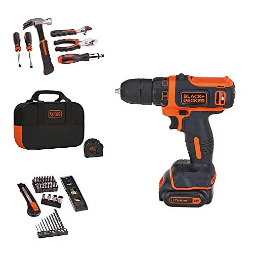 BLACK+DECKER 12V MAX Drill & Ho…