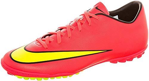 Nike Herren Mercurial Victory V TF Fußballschuhe, Mehrfarbig (Hypr Punch/MTLC Gld Cn-blk-VLT), 43