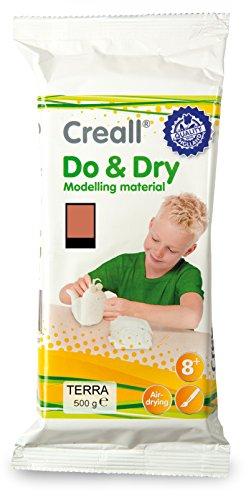 Creall havo26016500g Terracotta Havo Do und Dry Modellier Material Set