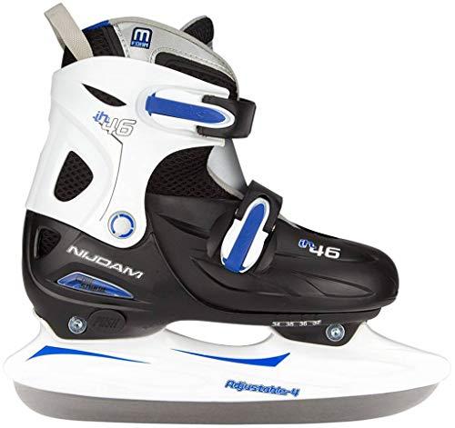 Kindereishockeyschlittschuhe verstellbar 38-41