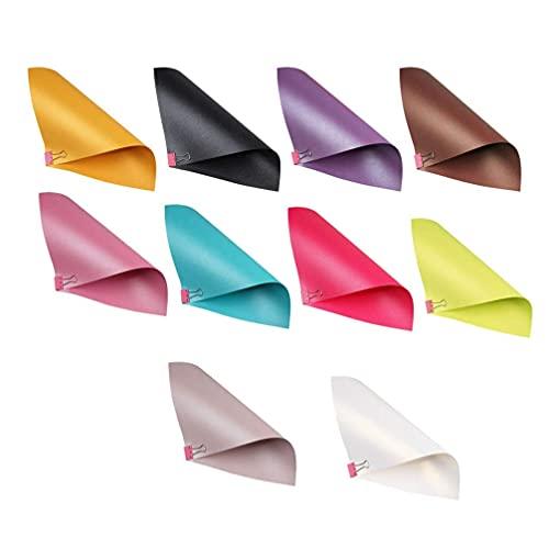 LIXBD Metallic-Schimmer-Papier, Perlglanz-Papier, Karton für Kunsthandwerk, Geschenkverpackungen (Farben gemischt) (Farbe: Bild 1, Größe: 21 x 29 cm)