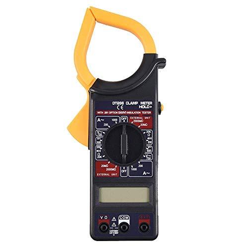BXU-BG Digital Current Clamp Meter zumbador de retención de datos sin contacto multímetro voltímetro ohmímetro del amperímetro ohmiómetro