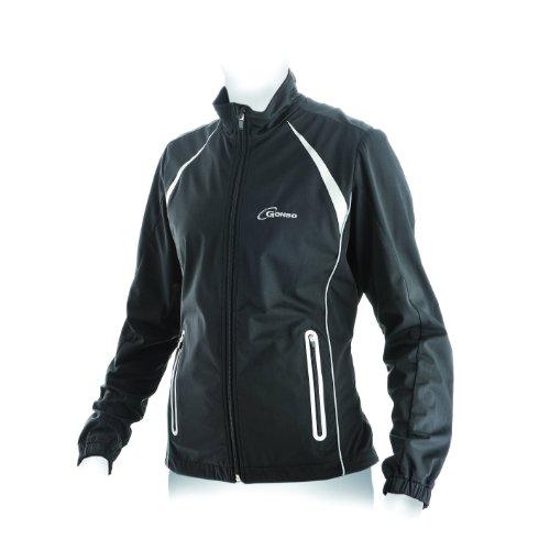 Gonso Damen Softshell-Active-Jacke Thun, 9000 Black, 42, 32505