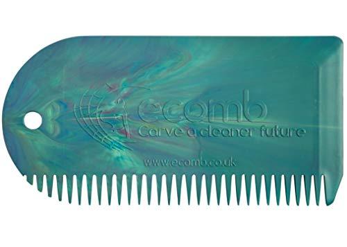 Surfboard Wax Comb - 100% Reclaimed Ocean Waste Plastic (Tie Dye) Surf Board Wax...