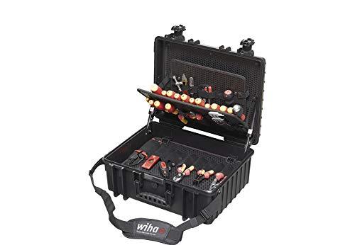 Wiha Competence XL Gereedschapsset voor elektriciens, gemengde 80-delige in koffer (40523) XL gemengd 80-delig. multicolor
