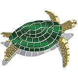 Drop-in Turtle Vinyl Swimming Pool Mat (40' x 30')