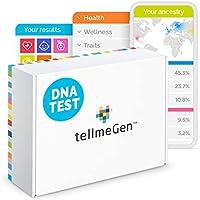 tellmeGen Test DNA Salute + Ancestry (Origini) | Il Test del DNA più completo (Malattie più importanti, Antenati,...