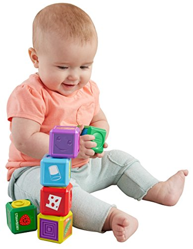 Fisher-Price Laugh & Learn Premiers Mots Les Blocs de Forme