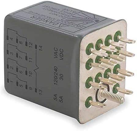 Relay 14Pin 4PDT 5A 120VAC Max 64% famous OFF