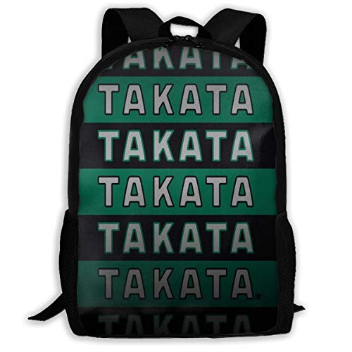 Yaxinduobao Fashion Daypack Takata Hq School Bag Teenager Casual Sports Backpack Men Women Student Travel Hiking Laptop Backpack