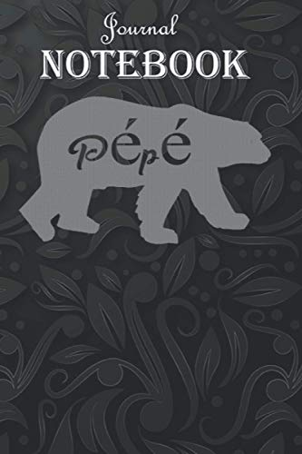 Journal Notebook, Composition Notebook: Pepe Bear Funny - Pepe Bear Perfect 6'' x 9'', 100 Pages for Notes, Journal, Soft Cover, Matte Finish A special gift for Kids, Him or Her