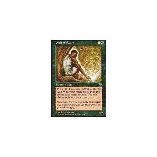Magic The Gathering - Wall of Roots - Mirage