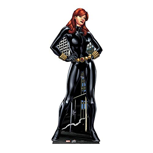 Marvel Avengers - Cartonato in dimensioni reali della Vedova Nera