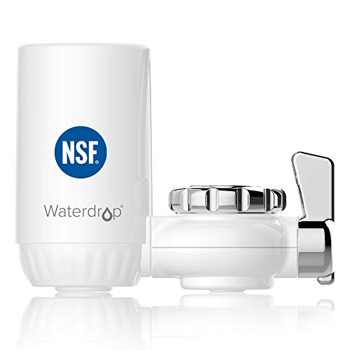 Waterdrop NSF Certifiée Filtre à Eau du Robinet,...