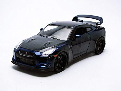 Jada Toys - 97036bl - Nissan - Gt-r35 - 2009 - Fast And Furious 7 - Échelle 1/24