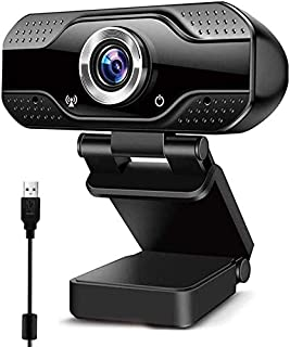 Innoo Tech 1080P HD Webcam with Mic, USB Plug and Play Web Camera for Video Calling, Online study, Conference, Recording, ...