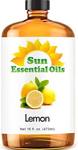 Top 10 Best lemon essential oil 16 oz Reviews