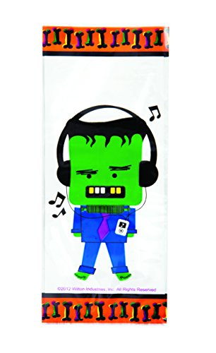 Wilton Halloween Spooky Pop Party Bags, 20 Count