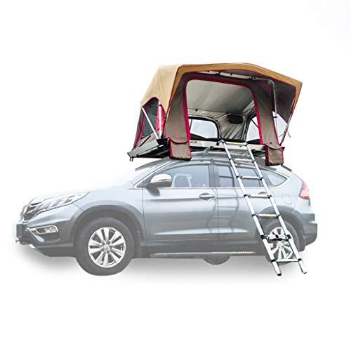 JIN Zelfrijder, tochten, camping, auto-tent, aluminiumlegering, automatische uitsparing, voor buiten, mobiele ruimte, regenbescherming, zonnecrème met verlengkabel