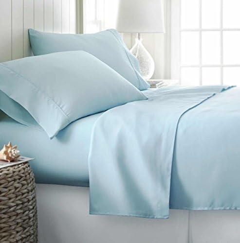 Simply Soft 4 Piece Sheet Set Queen Aqua product image