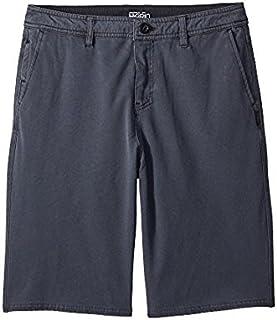 オニール ONeill Kids キッズ 男の子 ショーツ 半ズボン Black Venture Overdye Hybrid Shorts (Big Kids) [並行輸入品]
