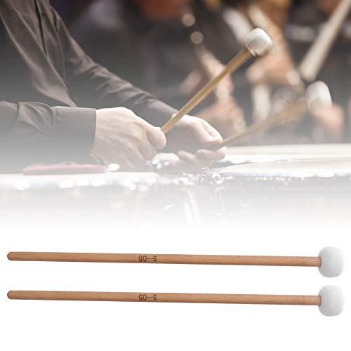 Timpani Mallet Timpani Stick Snare Drum Mallet met vilten kop voor Marching Band Snare Drum