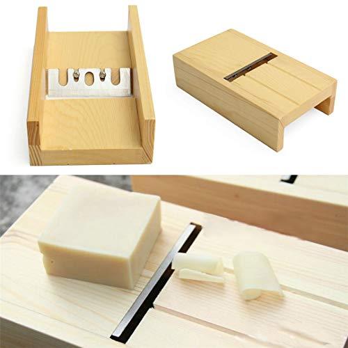 LEAMALLS Savon Moule réglable avec Soap Bricolage Fait à la Main Mould Artisanat boîte en Bois Fabrication de Savon Cuisine Maison #5