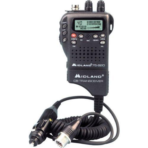 40-Chnl Hand-Held CB radio
