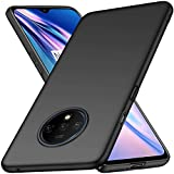 Case Compatible for OnePlus 7T Slim Protective OnePlus 7T Case [Protect from Shock/Scratch/Drop/Marks] [Premium PC Plastic] Minimalist Hard Cover for OnePlus 7T (Black)