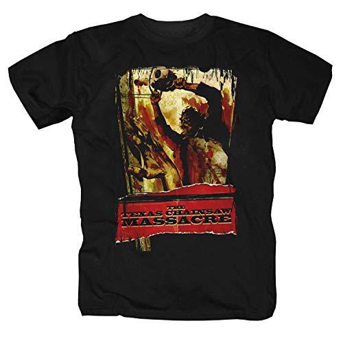 Texas Chainsaw Massacre Film Orrore Splatter Evil Dead Camicia Maglietta Shirt T-Shirt 3XL