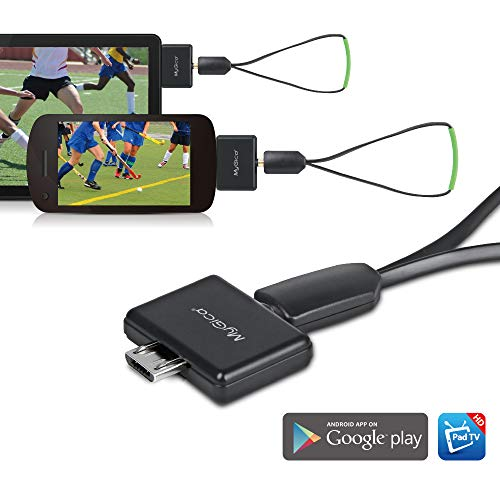 Review Of MyGica tv Tuner for Watching ATSC Digital TV Anywhere You go with Android Mobile or Pad (P...