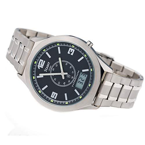 Stauer Men's Titanium Atomic Watch