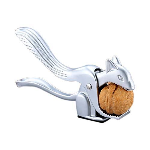 Eichhörnchen-Form, Zinklegierung, Nuss-Walnuss-Zange, multifunktionale Nuss-Zange – Nussknacker, robuster Nussknacker, Metall, Nussknacker, Pekan-Öffner, Werkzeug Schalen-Entferner, multifunktional