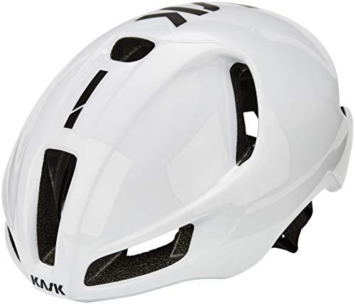 Kask Utopia - Casco de Bicicleta para Adulto, Unisex, Color Blanco
