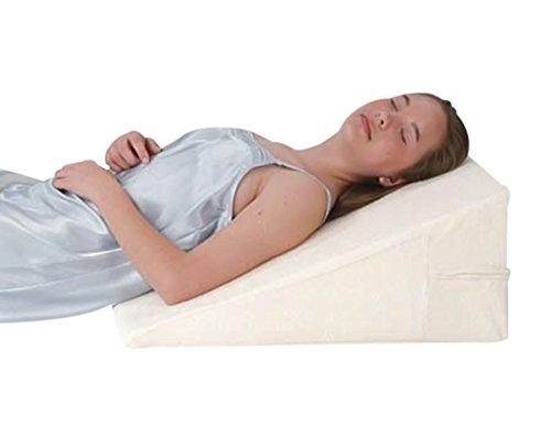 "Alex Orthopedic 7"" Comfortable All Memory Foam Bed Wedge"