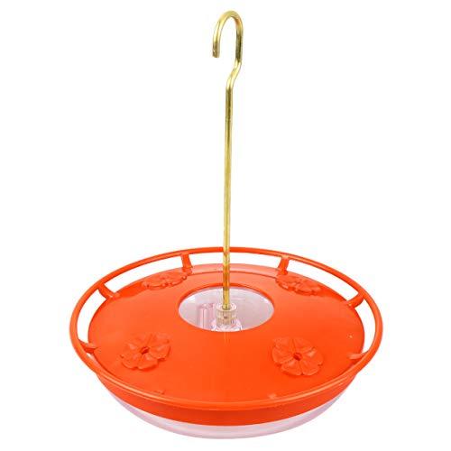 Yarnow Kolibri Feeder Vogel Feeder Wasserspender Hängen Wasserspender Hängen Flaschen Fütterungsstationen für Gartenhaus (Rot)