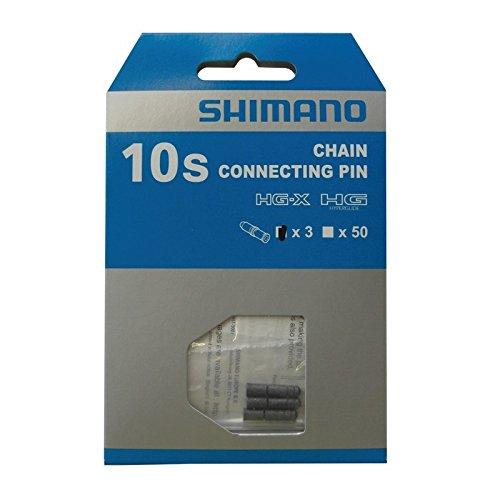 Shimano - Y08X98031 - Kettennieten , 10 Gänge -,Grau - 3 Stück