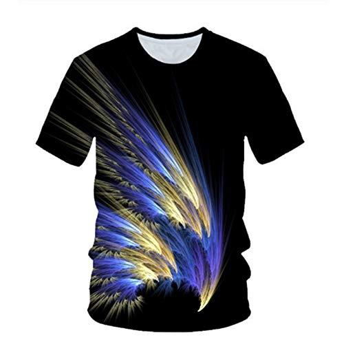 SSBZYES Camisetas para Hombre Camisetas De Manga Corta para Hombre Camisetas De Manga Corta con Cuello Redondo Y Manga Corta Transpirables De Verano Camisetas Delgadas De Moda Camisetas para Hombre