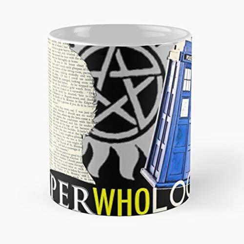 Supernatural Doctor Who Sherlock Bbc Superwholock Science Fiction Tardis Paranormal Detective - Best 11 oz Kaffee-Becher - Tasse Kaffee Motive