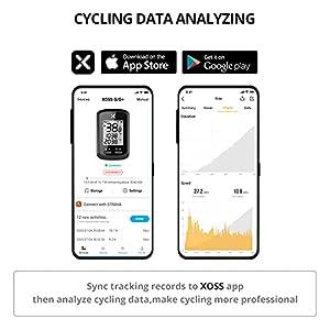 XOSS G Bicicleta Computadora Ciclismo GPS Inalámbrico Velocímetro de Bicicleta Odómetro Rastreador de Ciclismo Impermeable Bicicleta de Carretera MTB Bicicleta Bluetooth