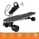 shaofu Electric Skateboard Youth Electric Longboard with Wireless Remote...