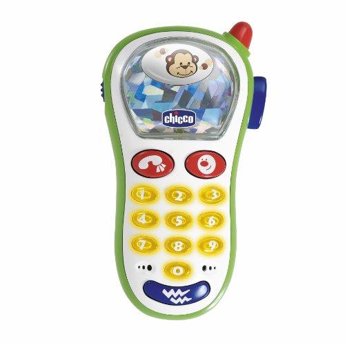 Chicco Telefonino Vibra e Scatta, Primo Telefono con Luci e Suoni, 60067