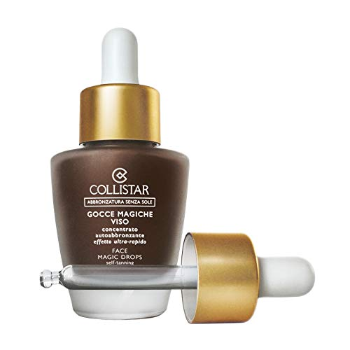 Collistar K26116 sérum autobronceador 30 ml - Sérums autobronceadores (30 ml, Cuerpo, Hidratante, Oro, Apply evenly a few drops of the product to clean and dry face, neck and décolleté. Wash hands.)