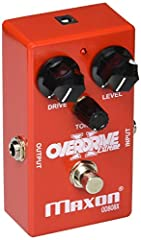 Modified version of classic OD808 Overdrive Extended frequency response improves note definition and clarity Increased Output (+5 dB over OD808) for extra Volume Boost Harder clipping yields more aggressive, amp-like Distortion Buffered Bypass Switch...