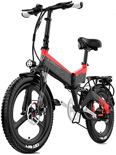 Electric Bike Electric Mountain Bike, Adult 400W Electric Mountain Bike 7 Speeds Beach Cruiser Snow Mountain Electric Bicycle Full Suspension City Commute Mountain E-Bike (WHITE) for the jungle trails