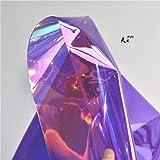 Meterware als Dekostoff- Transparenter Pvc Stoff Spiegel